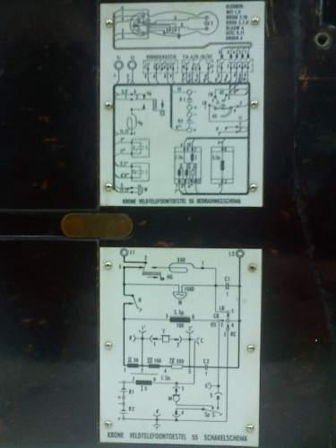 LW V-2 Instalation field telephone??