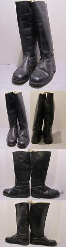 German Officers Boots