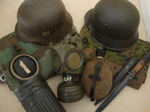 My fledgling field equipment collection