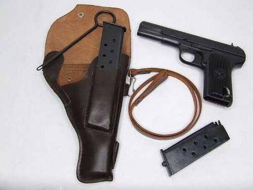 Unknown holster, possibly luger??