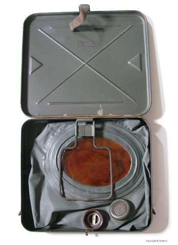 Unknown box for Gas Schutzhaube