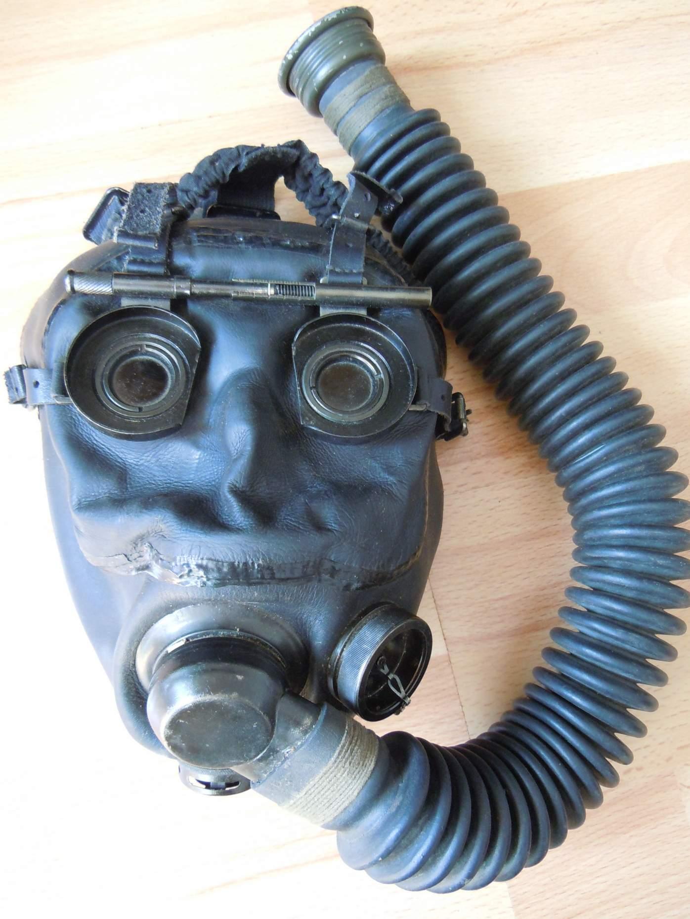 German Optical Gas Mask
