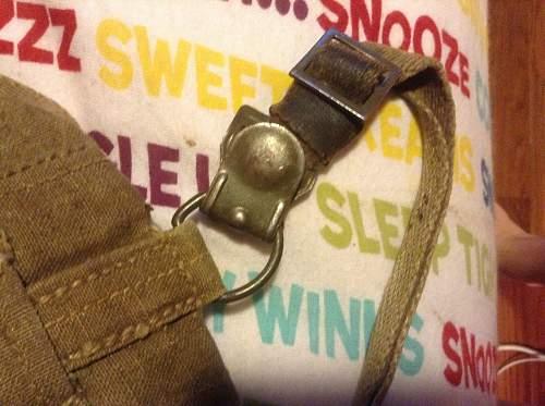 Ww2 rucksack