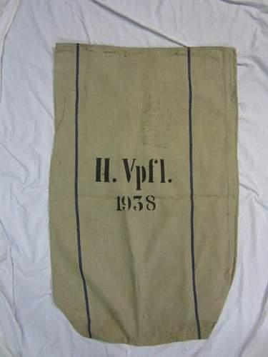 Original Heer verpflegungssack 1938?