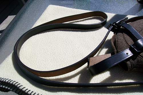 Medical canteen strap and cover...... Real or repro .