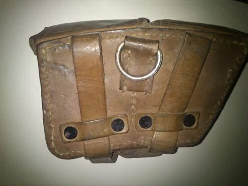 world war 2 German ammo pouch?