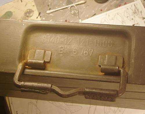 MG 34/42 ammunition box