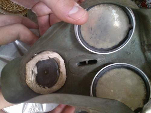 Real 1940 German gas mask?