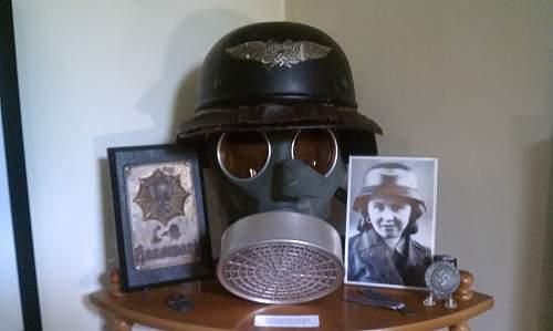 My Luftschutz Gas set near minty!