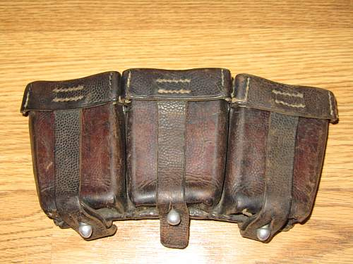 K98 ammo pouch? German WW2?