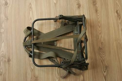 Unknown German backpack