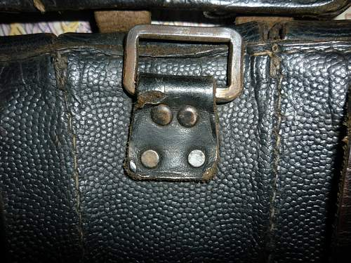German ww2  ammo pouch? Let me know...