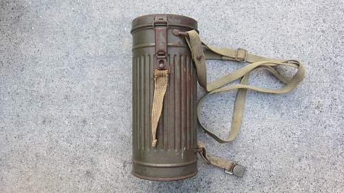 Openion Wehrmacht gasmask with cannister long model