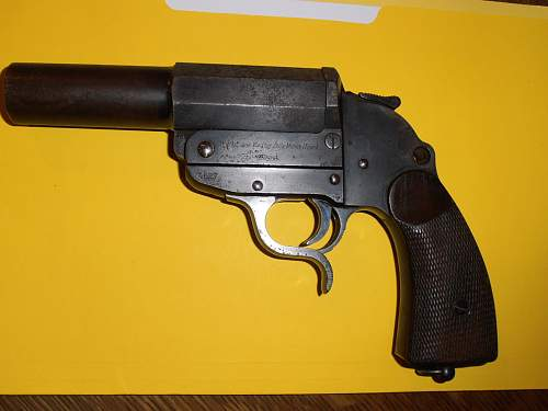 Walther Banner Flare Pistol