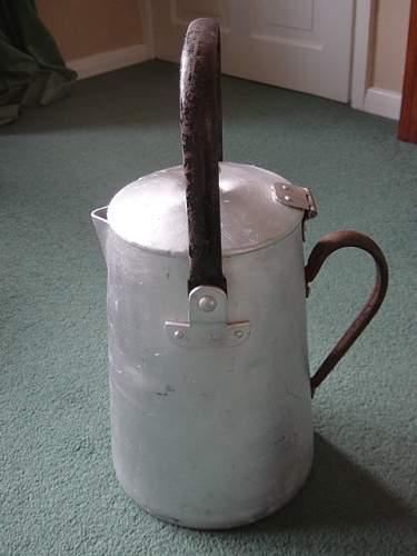 Large Luftwaffe jug.