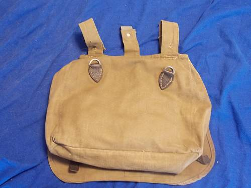 Postwar German breadbag?