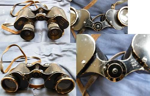 Help-1940 Carl Zeiss 6 x 30 Dienstglas Binoculars