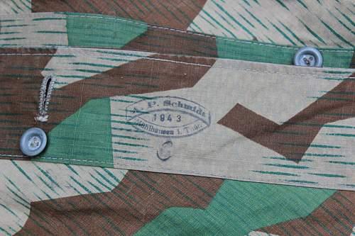 New piece of gear - 1943 maker marked Zeltbahn