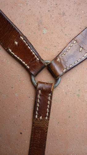 Y straps Kriegsmarine? I need opinions...