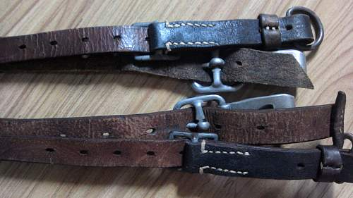 New collection of wehrmacht tornister affe