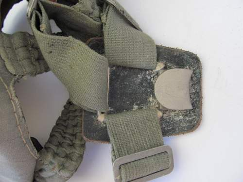 A little help with ID on gas mask and bag