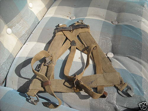 German wwii army combat assault pack a frame
