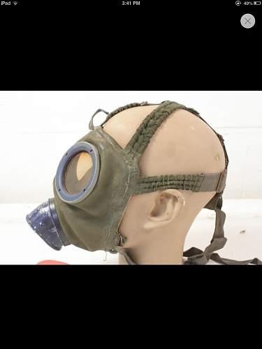 German gas mask colors