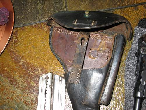 Please help id what's left of this holster!