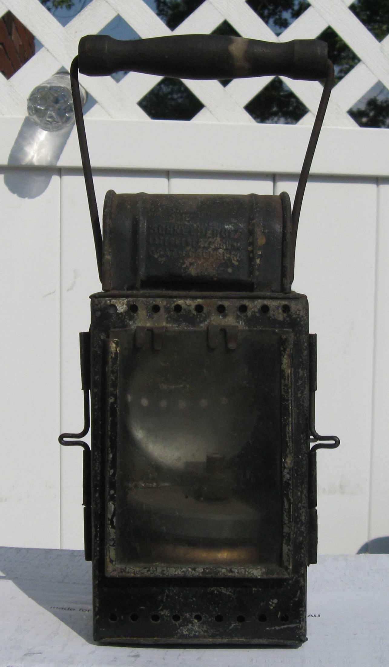 Your opinion on this WW2 German Carbide Railroad Lantern