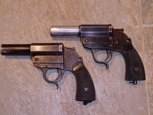 Early Wermacht Walther Made Flare Pistol