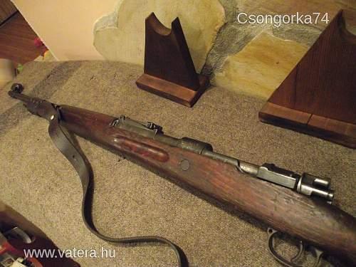 WW2 German mauser Gewehr guns