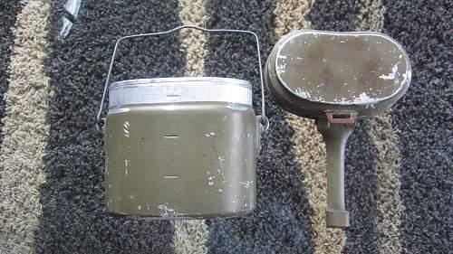 My new M31 mess tin