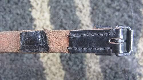 Equipment strap original??