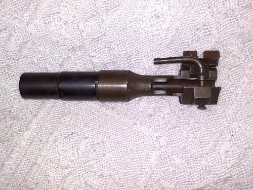 Help!!! Fake grenade launcher for k98????