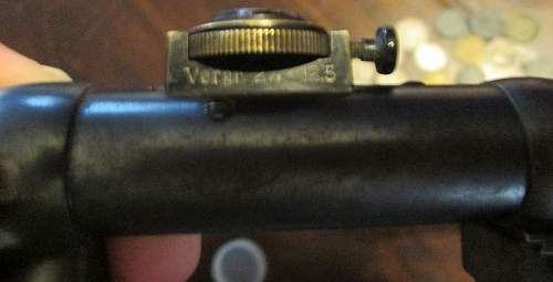 German rifle scope - Berlin Gnomet - Olgee Berlin