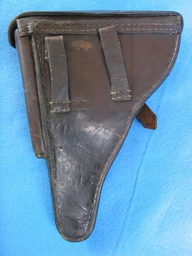 Reichswehr Ministry marked Luger holster