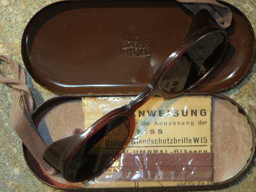 Umbral Carl Zeiss, Jena sunglasses in the case