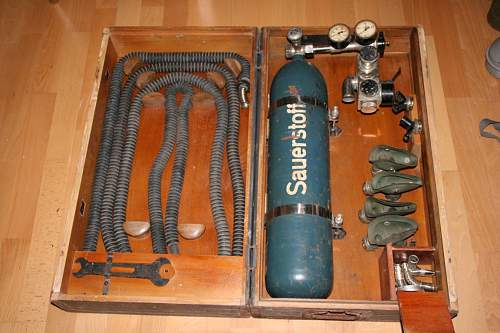 medical oxygen box