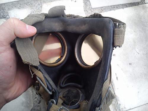 New GM38 respirator (no can)