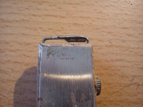 German wristwatch? (relic)