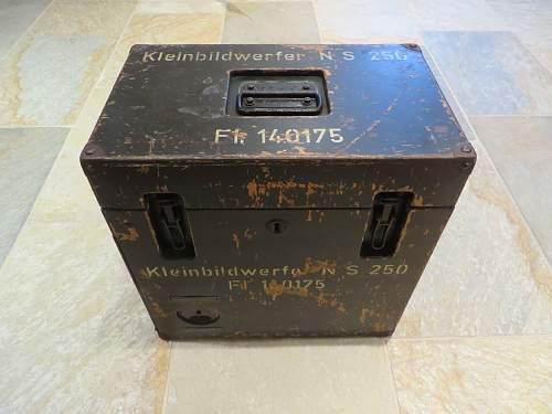 Luftwaffe projector