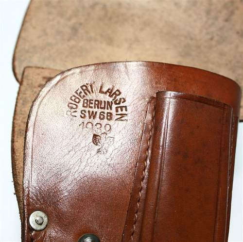 Holster Identification; For Luger?