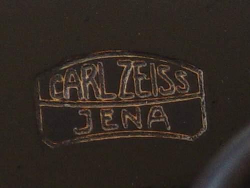 6x30 Dienstglas by Carl Zeiss of Jenna