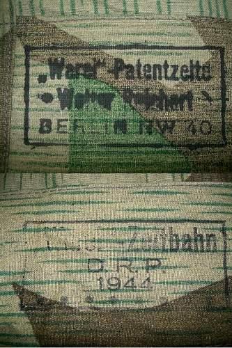 Is this zeltbahn original?