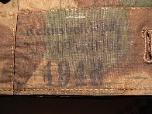 RB Numbered Heer Zeltbahn, 1943