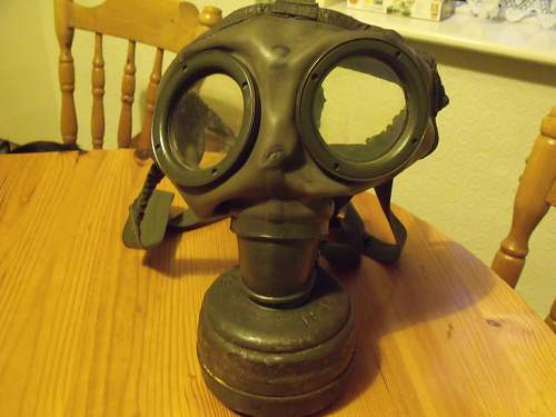 German WW2 Gas Mask purchase, model and details?