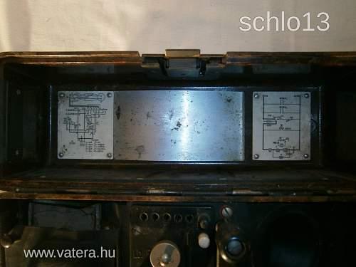 BVX 1940 Field Telephone