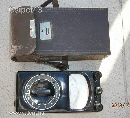 Hartmann & Braun Multavi II Multimeter DC Voltmeter