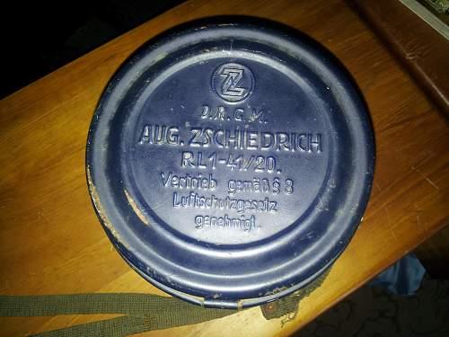 German Gasmask - A few questions