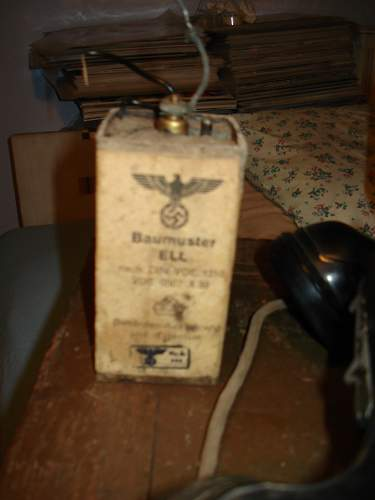 BVX 1940 Field Telephone